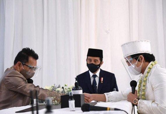 Momen Presiden Jokowi Jadi Saksi Nikah Aurel Hermansyah dan Atta Halilintar, Ini Fotonya