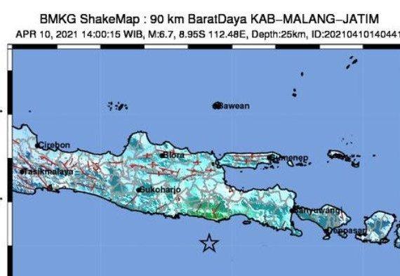 Penjelasan Ilmiah BMKG Soal Penyebab dan Dampak Gempa di Malang dan Sekitarnya